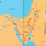 Putování Izraele pouští