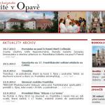 Minorité v Opavě