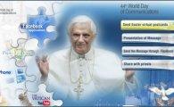 Táto aplikácia umožňuje posielať a prijímať správy a pohľadnice pápeţa prostredníctvom najväčšej sociálnej siete na svete. Užívatelia Facebooku tento spôsob posielania správ a virtuálnych pohľadníc...